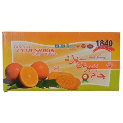 بیسکویت پرتقالی جام شیرین شهد یزد
