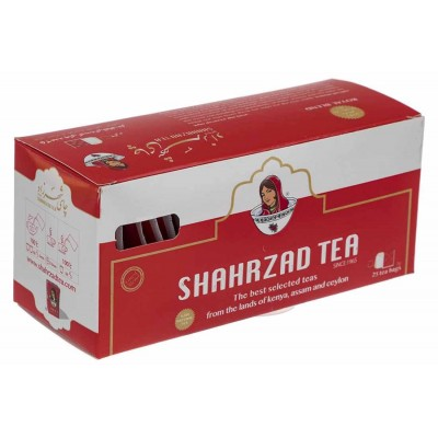 چای شهرزاد کیسه ای 25 عددی